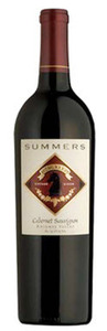 Summers Cabernet Sauvignon 2008, Knights Valley, Sonoma County Bottle