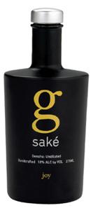 G Joy Junmai Ginjo Genshu Bottle