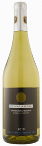 Hinterbrook Barrel Fermented Reserve Chardonnay 2010, VQA Niagara Lakeshore Bottle