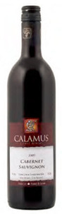 Calamus Cabernet Sauvignon 2009, VQA Lincoln Lakeshore, Niagara Peninsula Bottle