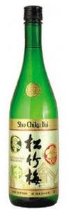 Sho Chiku Bai Classic Junmai Sake, California Bottle
