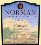 Norman Vineyards Conquest Cabernet Sauvignon 2007 2007 Bottle