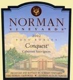 Norman Vineyards Conquest Cabernet Sauvignon 2007 2007 Bottle
