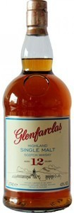 Glenfarclas 12 Years Old Highland Single Malt Scotch Bottle