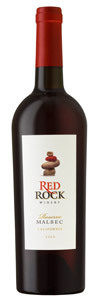 Red Rock Malbec Reserve 2010, California Bottle