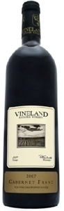 Vineland Estates Cabernet Franc 2009 Bottle