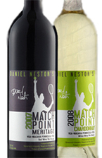 Daniel Nestor Match Point 2007 Bottle