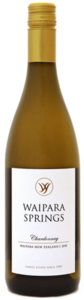 Waipara Springs Premo Reserve Chardonnay 2010, Waipara, Canterbury, South Island Bottle