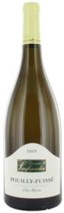 Domaine La Soufrandise Clos Marie Pouilly Fuissé 2010, Ac Bottle