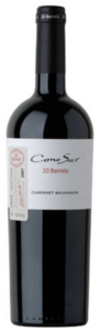 Cono Sur 20 Barrels Cabernet Sauvignon 2008, Maipo Valley, Limited Edition Bottle