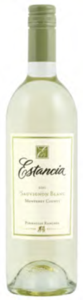 Estancia Pinnacles Ranches Sauvignon Blanc 2011, Monterey Bottle