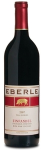 Eberle Steinbeck & Wine Bush Vineyards Zinfandel 2007, Paso Robles Bottle