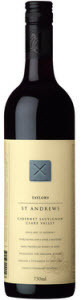 Wakefield St. Andrews Cabernet Sauvignon 2006, Clare Valley, South Australia, Single Vineyard Release Bottle