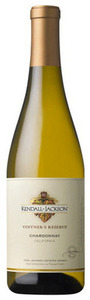Kendall Jackson Vintner's Reserve Chardonnay 2010, California Bottle