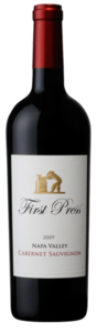 First Press Cabernet Sauvignon 2007, Napa Valley Bottle