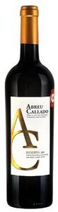 Abreu Callado Reserva 2009, Vinho Regional Alentejano Bottle