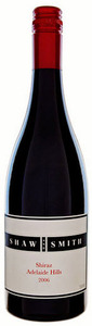 Shaw & Smith Shiraz 2009, Adelaide Hills, South Australia Bottle