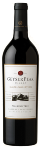 Geyser Peak Block Collection Walking Tree Cabernet Sauvignon 2007, Alexander Valley, Sonoma County Bottle