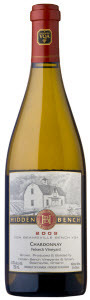 Hidden Bench Felseck Vineyard Chardonnay 2009, VQA Beamsville Bench, Niagara Peninsula Bottle