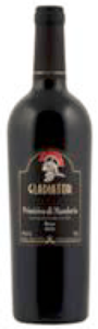Gladiator Primitivo Di Manduria 2010, Doc Bottle