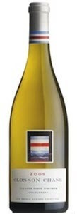 Closson Chase Chardonnay 2009, VQA Prince Edward County, Closson Chase Vineyard, Unfiltered Bottle