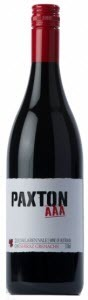 Paxton Aaa Shiraz/Grenache 2010, Mclaren Vale, South Australia Bottle