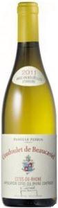 Coudoulet De Beaucastel Blanc 2011, Ac Côtes Du Rhône Bottle