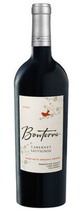 Bonterra Cabernet Sauvignon 2009, Mendocino County Bottle