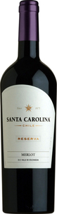 Santa Carolina Merlot Reserva 2011, Colchagua Valley Bottle