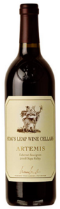 Stag's Leap Wine Cellars Artemis Cabernet Sauvignon 2008, Napa Valley Bottle