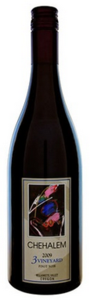 Chehalem 3 Vineyard Pinot Noir 2009, Willamette Valley Bottle