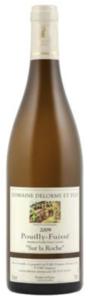 Domaine Delorme Et Fils Sur La Roche Pouilly Fuissé 2009, Ac Bottle