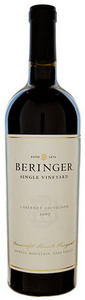 Beringer Cabernet Sauvignon 2009, Napa Valley Bottle