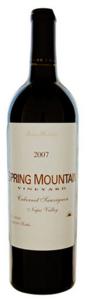 Spring Mountain Cabernet Sauvignon 2007, Spring Mountain, Napa Valley (375ml) Bottle
