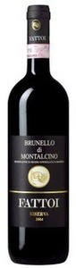 Fattoi Brunello Di Montalcino 2007 Bottle