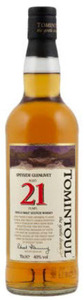 Tomintoul 21 Years Old Speyside Glenlivet Single Malt (700ml) Bottle