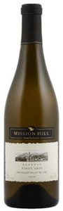Mission Hill Reserve Pinot Gris 2010, VQA Okanagan Valley Bottle