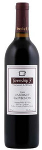 Township 7 Cabernet Sauvignon 2008, VQA Okanagan Valley Bottle
