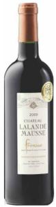 Château Lalande Mausse 2009, Ac Fronsac Bottle