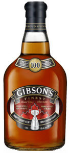 Gibson's Finest 100th Grey Cup Limited Edition Bottle