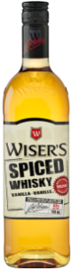 Wiser's Spiced Vanilla Canadian Whisky Bottle