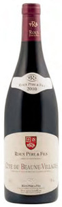 Roux Père & Fils Côte De Beaune Villages 2010, Ac Bottle