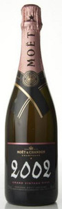Moët & Chandon Grand Vintage Brut Rosé Champagne 2002, Ac Bottle