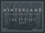 Hinterland Les Etoiles 2009, Prince Edward County Bottle