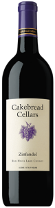 Cakebread Zinfandel 2009, Red Hills Lake County Bottle