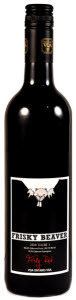 Frisky Beaver Red Dam 2010, VQA Ontario Bottle