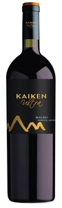 Kaiken Ultra Malbec 2010, Mendoza Bottle