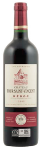 Château Tour Saint Vincent 2009, Ac Médoc Bottle