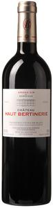 Château Haut Bertinerie Elegance Merlot/Cabernet 2009, Ac Côtes De Bordeaux, Blaye Bottle