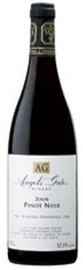 Angels Gate Pinot Noir 2009, VQA Niagara Peninsula Bottle